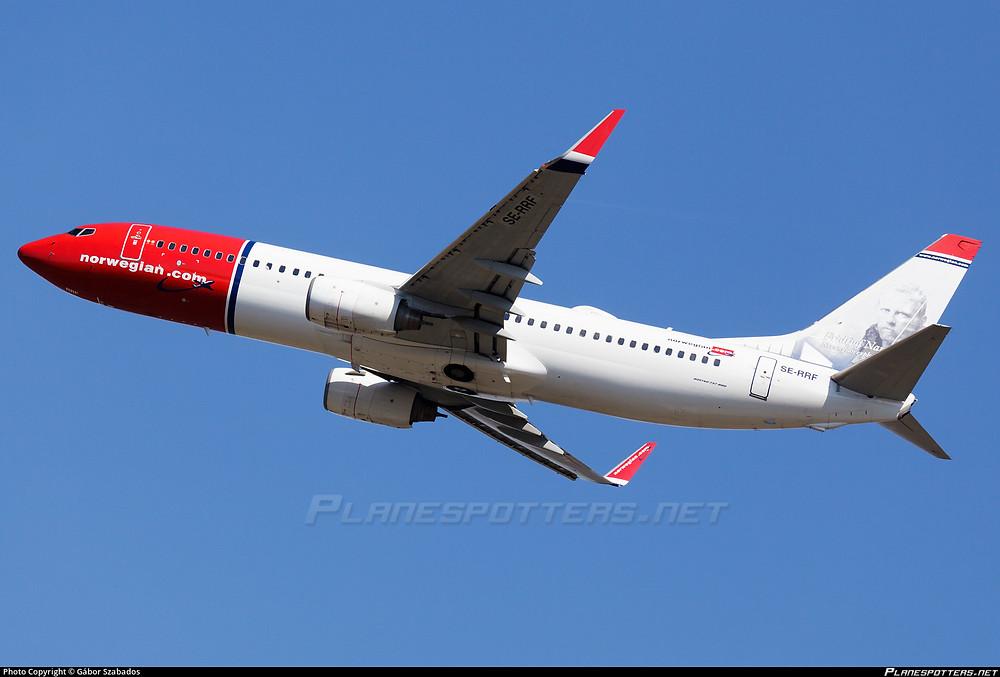 Takeoff norwegian B738 // planspotters.net