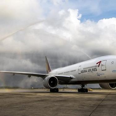 Luego del colapso de venta, Asiana Airlines recibe 2 mil millones de dólares de sus acreedores