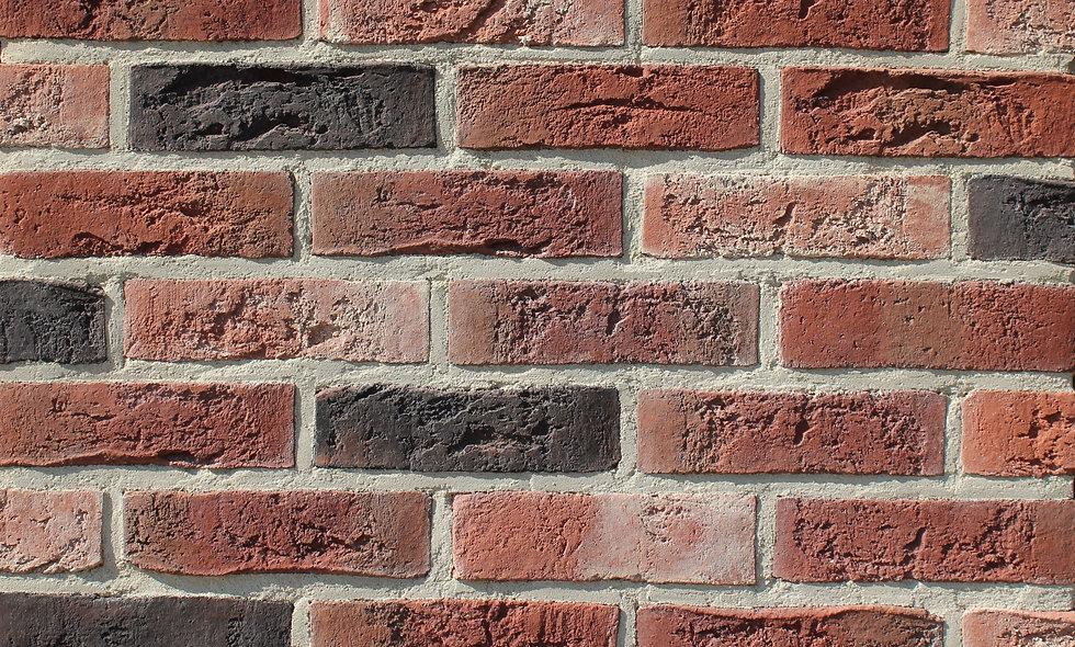 Плитка Loft Brick Бельгійський 07 Чорний 240x71 мм