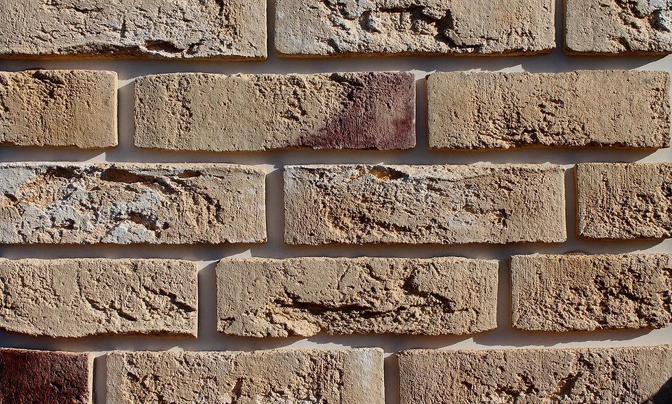 Плитка Loft Brick Бельгійський 10 Бежево-жовтий 240x71 мм