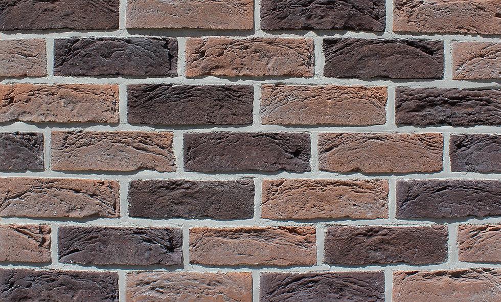 плитка Loft Brick Саппоро Червоно-коричневий з підпалинами 210x65 мм