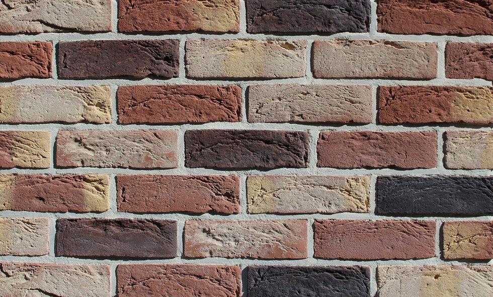 Облицювальна плитка Loft Brick Бостон 10 Темно-червоний 210x65 мм