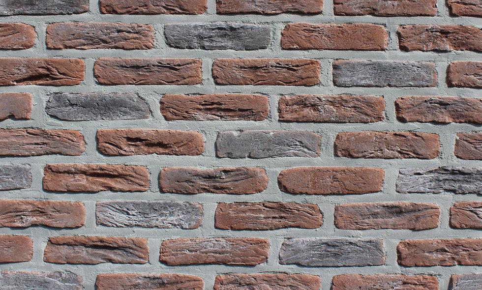 Облицювальна Плитка Loft Brick МФ-50 NEW Червоно-коричневий 190x50 мм