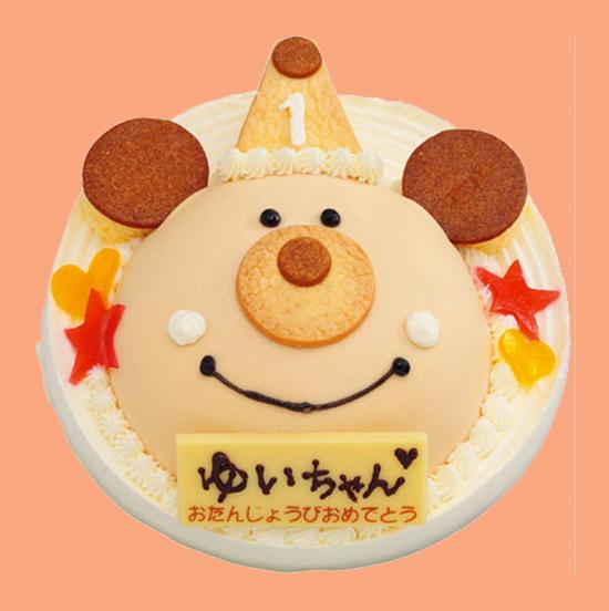 ベネッセ1才児用ケーキデザイン担当