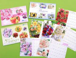 ESS お花のカレンダー