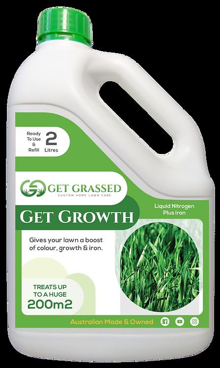 Get Growth 2L Hose on Bottle