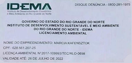 Licença do IDEMA