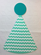 Teal Party Hat