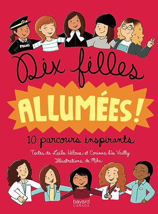 DIX FILLES ALLLUMÉES