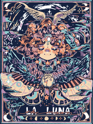 La Luna Sweater Print