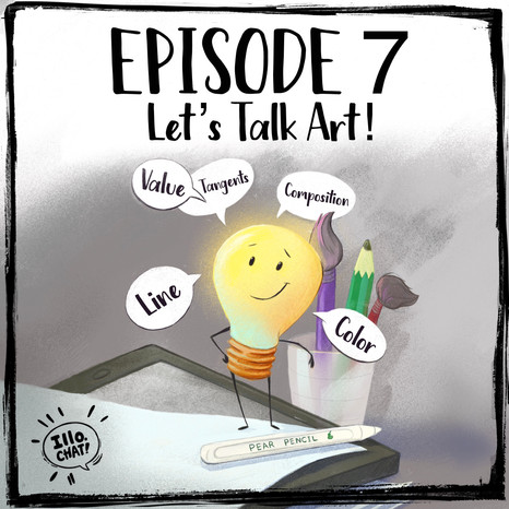 Episode 7 Let's Talk Art Part 1 & 2