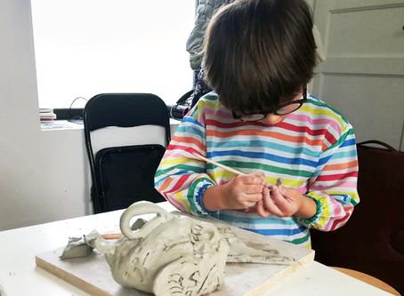 Atelier bimensuel modelage enfants : 4 novembre de 11h à 12h