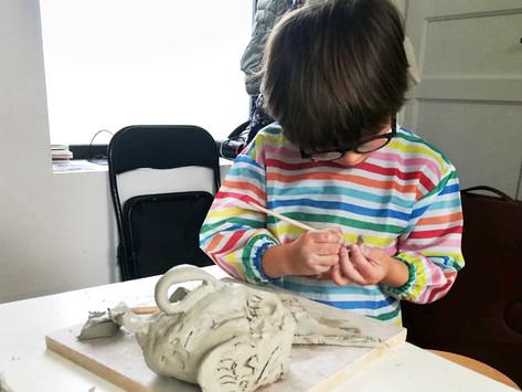 Atelier bimensuel modelage enfants : 20 octobre de 11h30 à 12h30
