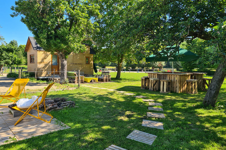 La guinguette en été, la Tiny House