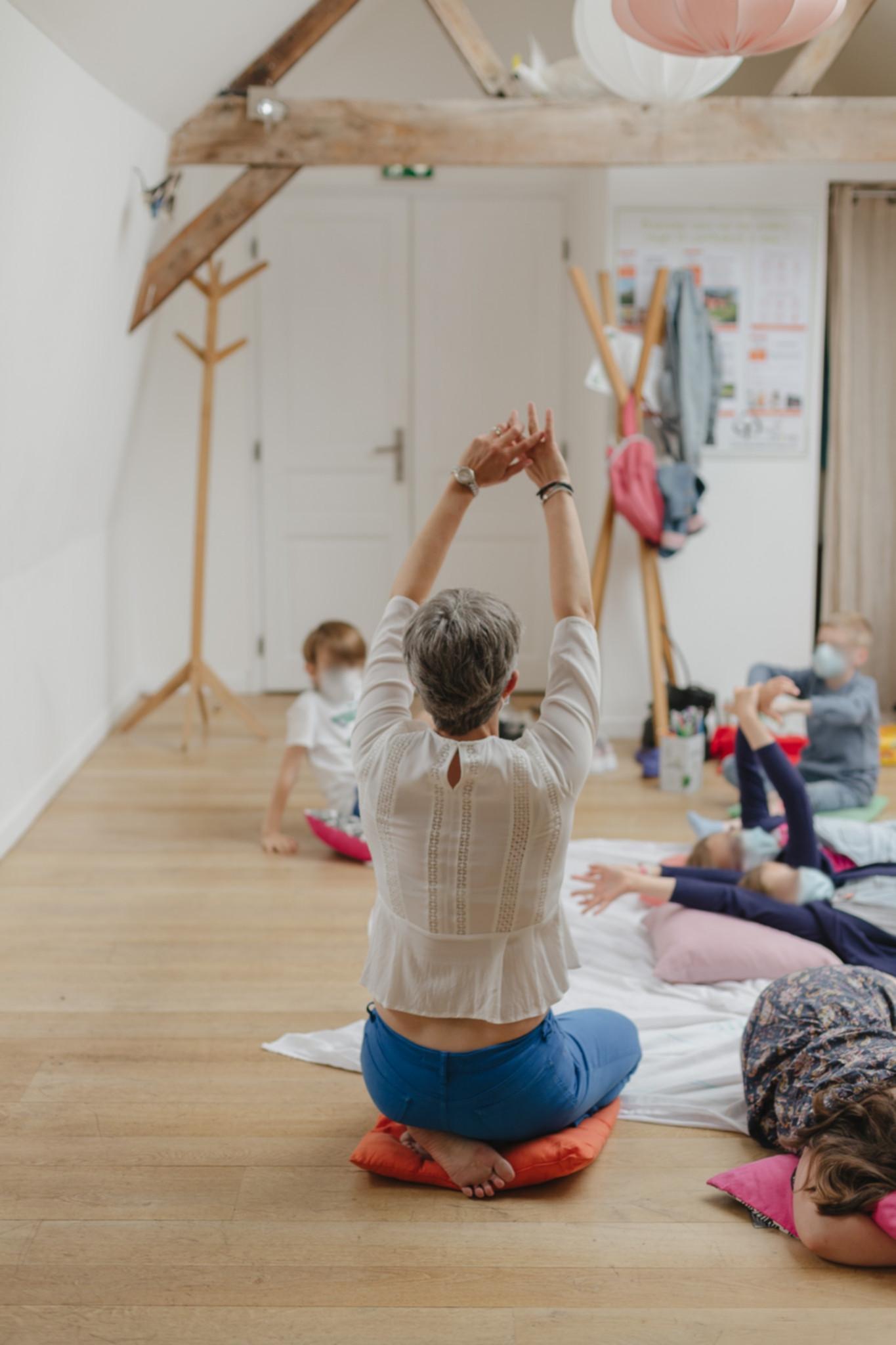 Atelier DUO parent/enfant de sophrologie