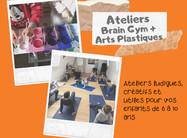 Vacances de Toussaint : stage enfants 6 à 10 ans >> Brain Gym + Arts plastiques