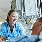 Infirmière et le patient