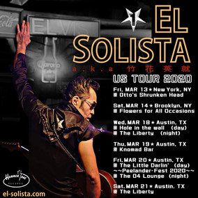 US tour starts as EL SOLISTA