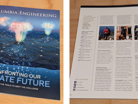 echoAR featured in the Columbia Engineering Magazine