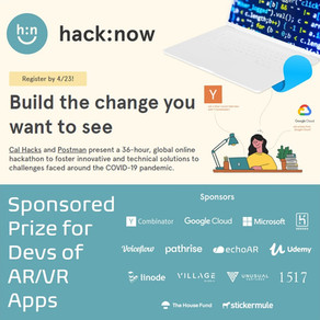 echoAR sponsors hack:now by Cal Hacks, the World's Largest Collegiate Hackathon