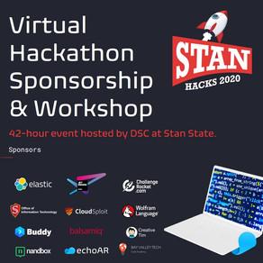 echoAR sponsors StanHacks and runs Virtual Workshop