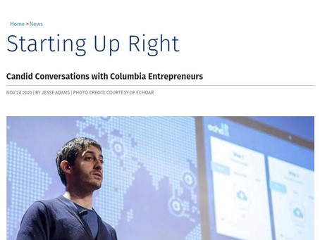 echoAR featured on the Columbia Engineering website