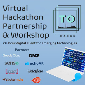 echoAR partners with TOHacks and runs Virtual Workshop