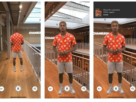 Augmented Reality, Virtual Reality & Fashion (Try before youbuy!)