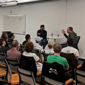 echoAR visits Techstars HQ