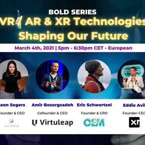 echoAR speaks about AR/VR at Bold Series