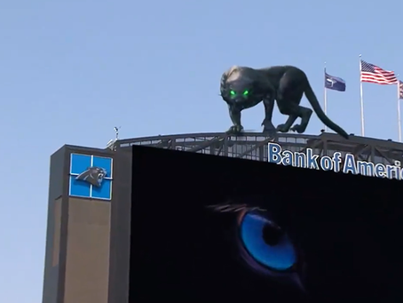 AR Spotlight: The Carolina Panthers Showcase the Possibilities of AR for Live Events &More