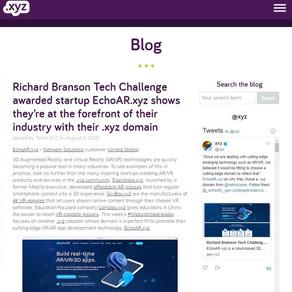 echoAR Featured on.XYZ