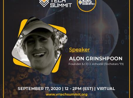 echoAR to speak at VR TechSummit