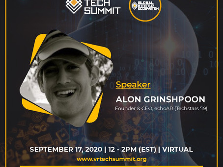 echoAR to speak at VR Tech Summit