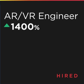 The current rise of AR