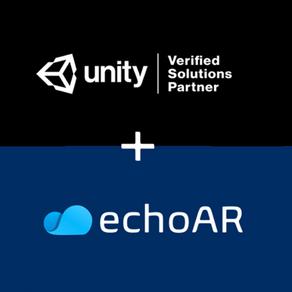 echoAR, a cloud platform for 3D apps, becomes a Unity Verified Solutions Partner