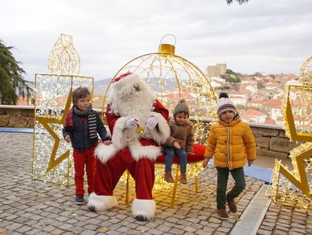 Pai Natal chegou a Pinhel
