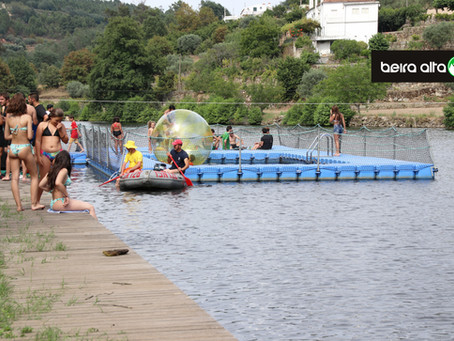 Praia Fluvial de Ponte de Juncais, em Fornos de Algodres, obtém Licença de Água Balnear, para 2020