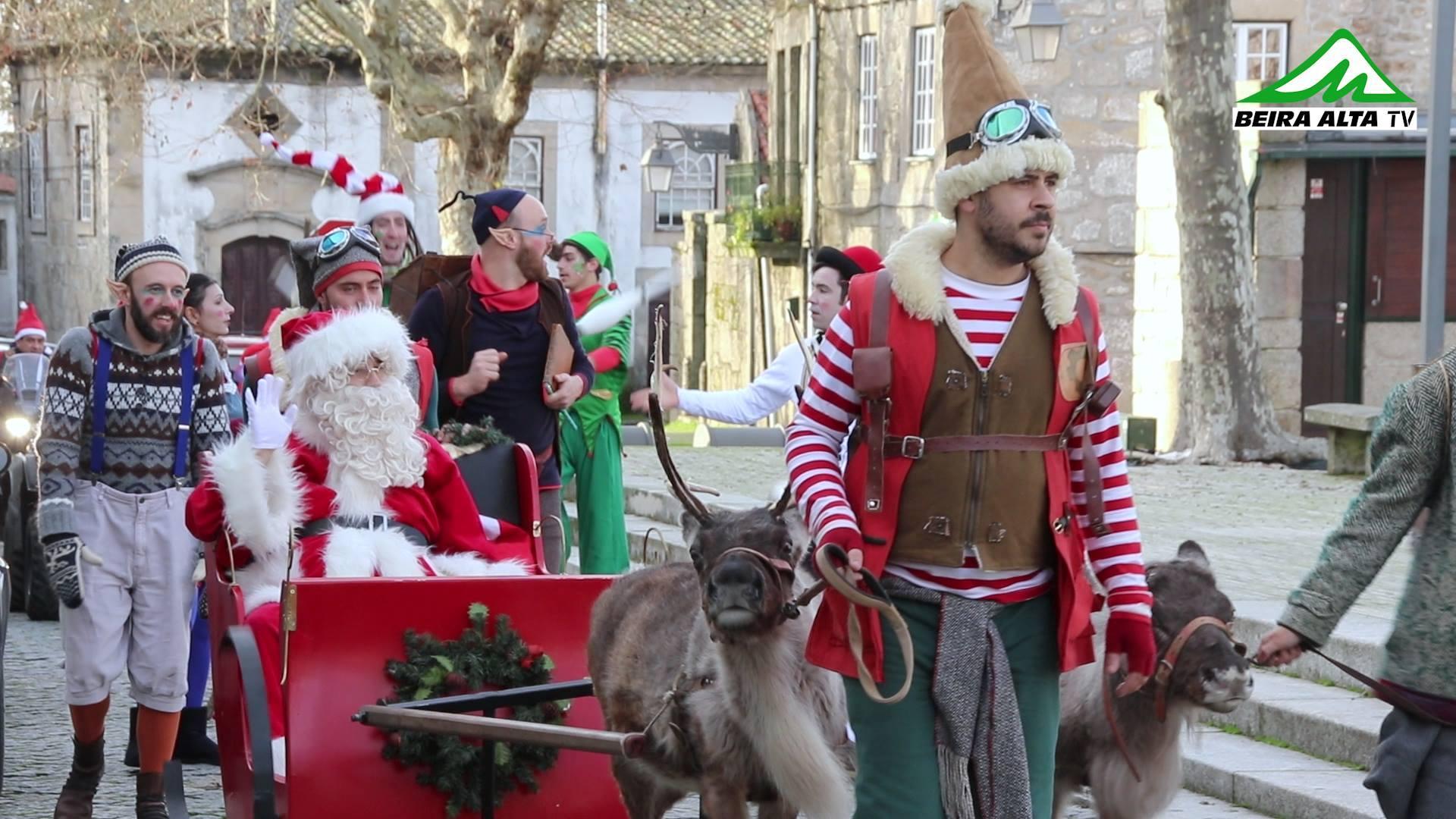 Pai Natal chegou a Trancoso com muita animação e magia 🎥