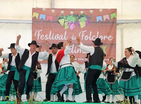 Vila Franca das Naves recebeu a quinta edição do Festival de Folclore das Vindimas