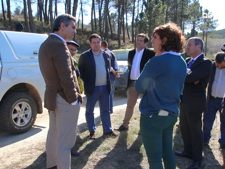 Secretário de Estado das Florestas em Celorico da Beira