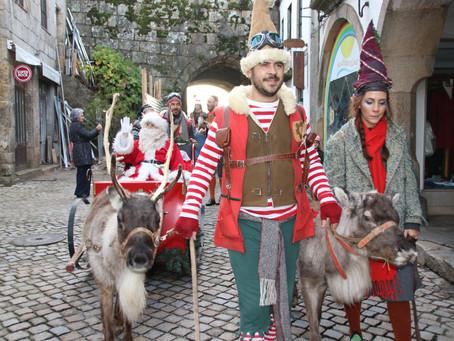 Pai Natal chegou a Trancoso com muita animação e magia