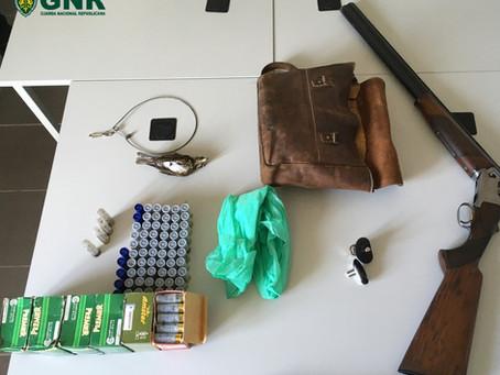 Homem de 54 anos detido em Gouveia por caça ilegal