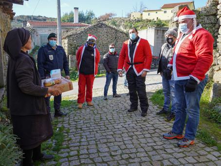 Pais Natal Motards entregam cabazes de natal em Trancoso