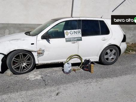 GNR deteve três pessoas por furto de combustível no Porto da Carne (Guarda)