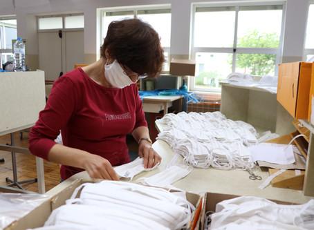 Mey Têxteis adapta fábrica para confeção de máscaras de proteção individual reutilizáveis