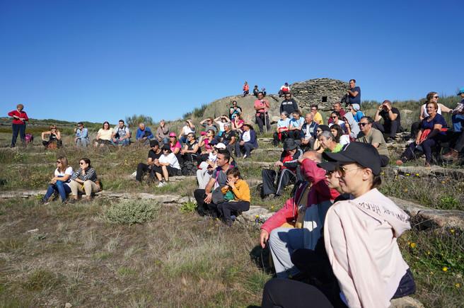 """aBEIRAr l Percurso Interpretativo levou participantes a conhecer a """"Rota dos Abrigos"""""""