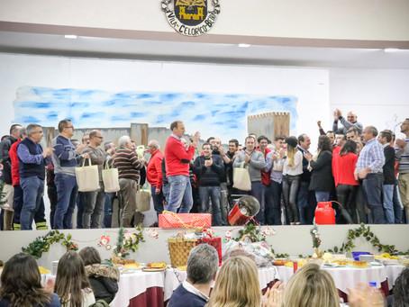 Espírito de Natal marca Ceia dos Bombeiros Voluntários de Celorico da Beira