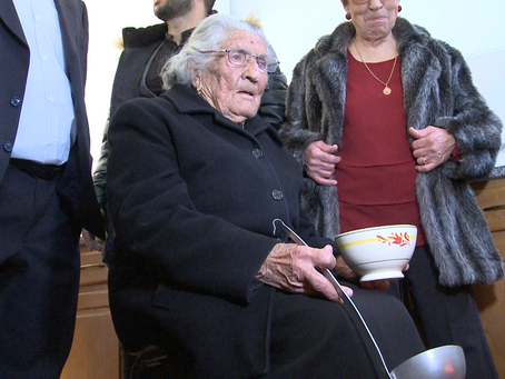 """Maria Piedade - a cozinheira da """"sopa dos pobres"""" foi homenageada"""