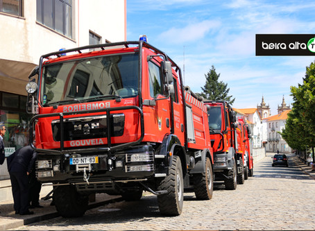 Município de Gouveia entrega 30 mil euros às 4 corporações de Bombeiros Voluntários do concelho